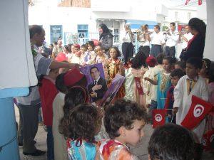 行ったのは2009年。アラブの春直前でチュニジアの総選挙が行われていました