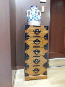 日本の木製タンス?もありました