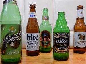 5カ国5種類のビール