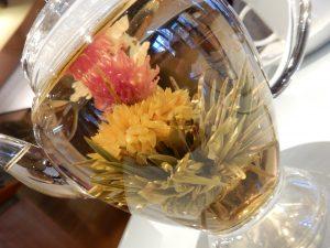 工芸茶,横浜,中華街,善隣門,山東2号店,餃子,五彩金花